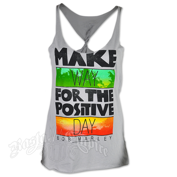 Bob Marley Make Way Silver Twist Tank Top – Women's
