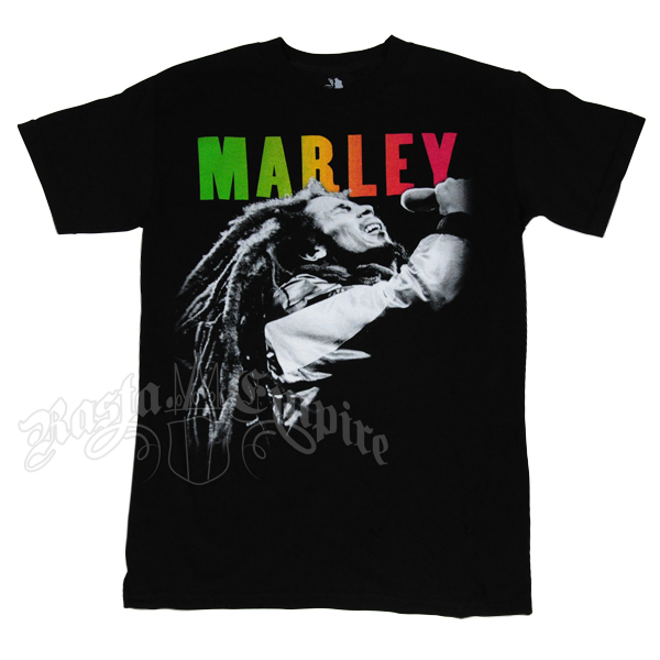 Bob Marley Concert Black T-Shirt – Men's