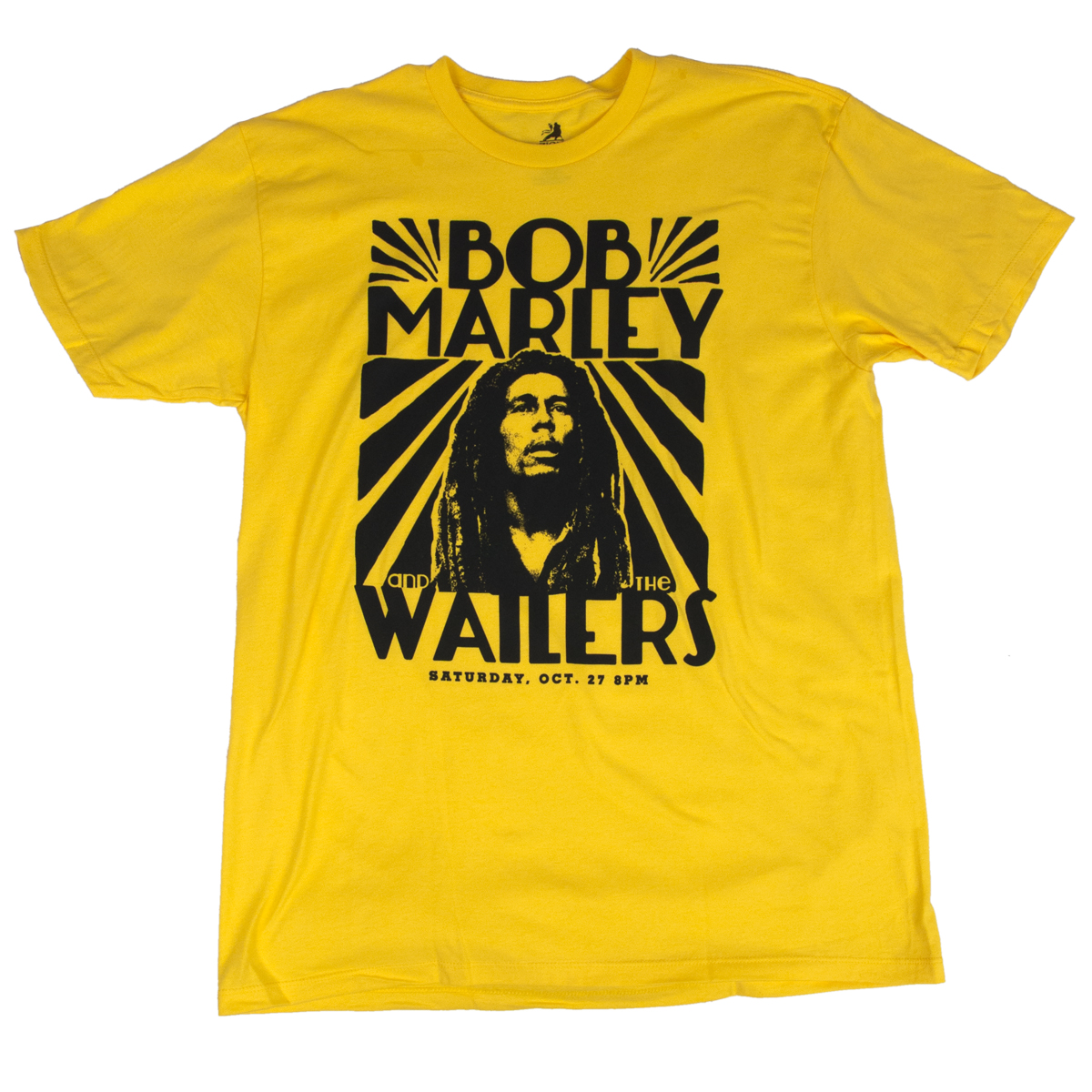 Bob Marley and The Wailers Vintage Yellow T-Shirt - Men's