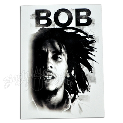 Bob Marley Bob Legend Sticker