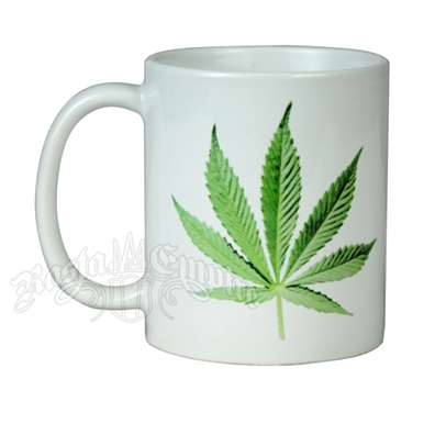 Cannabis Leaf Coffee Mug