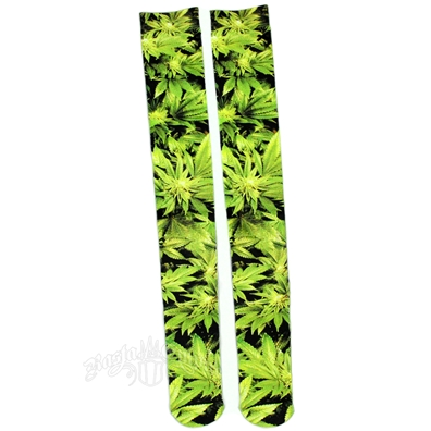 Trees Knee High Socks