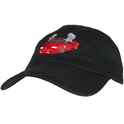 Smoke Out Lambo Black Ball Cap