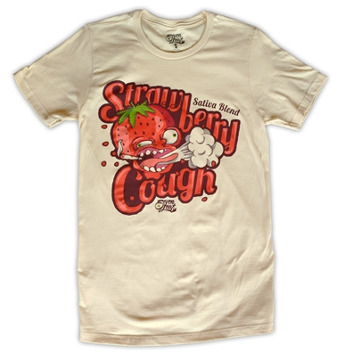 Seven Leaf Strawberry Cough Strain T-shirt - men's