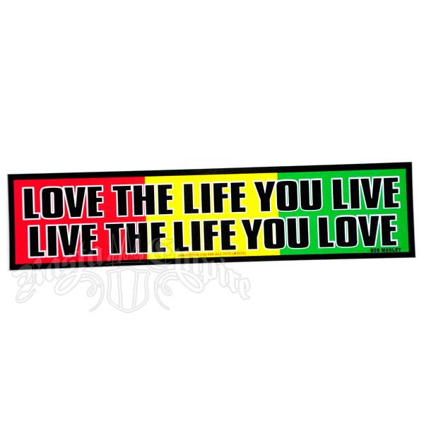 Love The Life You Live Live The Life You Love Ladies Cropped Hoodie